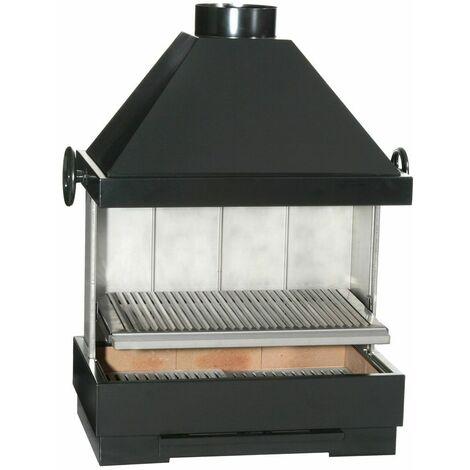 FERLUX Barbecue inox FIESTA charbon de bois