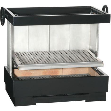 FERLUX Barbecue inox VERBENA charbon de bois