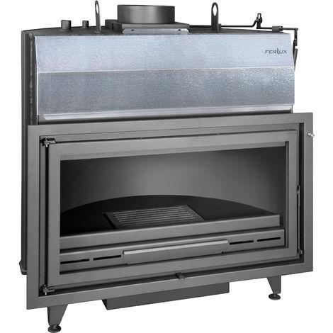FERLUX Foyer bouilleur chaudière à bois K-100 40kW