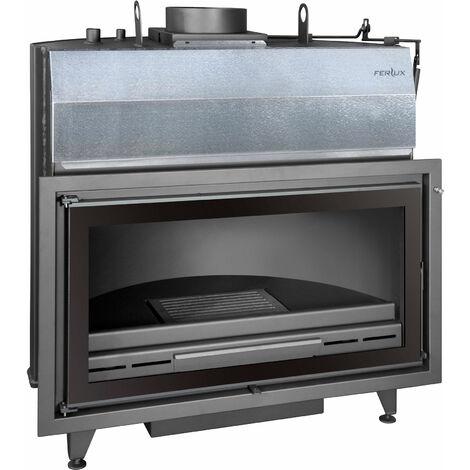 FERLUX Foyer bouilleur chaudière à bois K-100 S 40kW