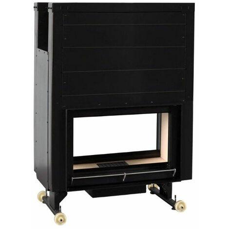 FERLUX Foyer en acier OPEN 1101 16,0kW récupérateur de chaleur, double-face