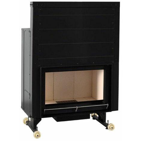 FERLUX foyer en acier OPEN 800 14,0kW récupérateur de chaleur