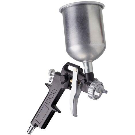 FERM ATM1039 Pistola de pintura con taza de gravedad