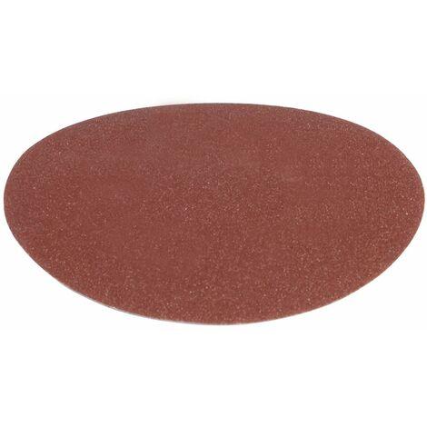 FERM BGA1038 Papier abrasif pour ponceuse BGM1003 - K150,150 mm -10 pcs