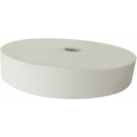 FERM BGA1056 Disco de piedra para lijar 150x40x12 - 7mm G80 blanco