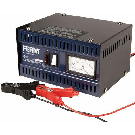 FERM cargador de baterías de metal BCM1021