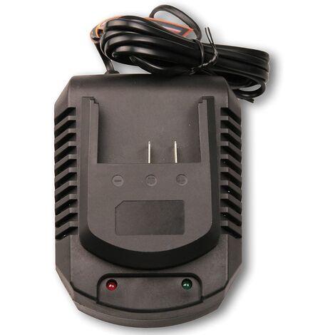FERM CDA1097 Chargeur de batterie 18V - 4.0Ah