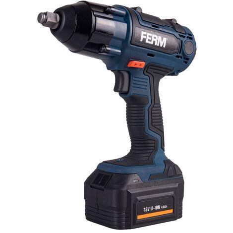 FERM CDM1127 Llave de impacto 18V 4.0Ah