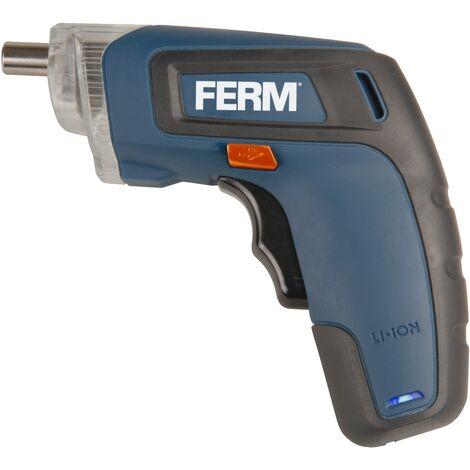 FERM CDM1132 Destornillador eléctrico 3.6V - 1.3Ah