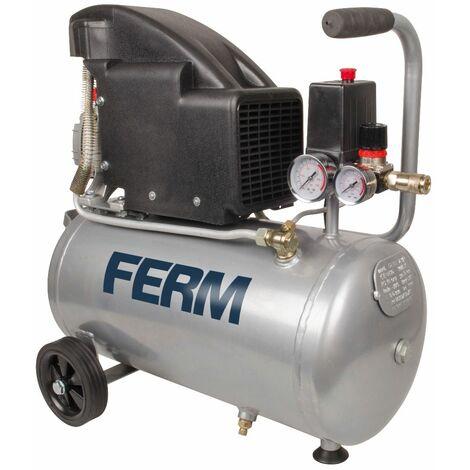 FERM CRM1045 Compresor 1100 W, 230 V, Set de 3 Piezas