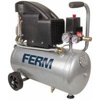 FERM CRM1045 Compresseur 1.5HP - 1100W -24L