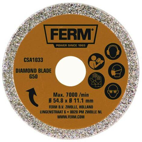 FERM CSA1033 Lame de scie G50 - pour scie circulaire de précision