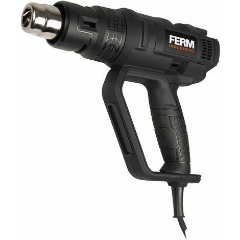 FERM HAM1017P Pistola de Aire Caliente / Decapadora Térmica de Pintura profesional