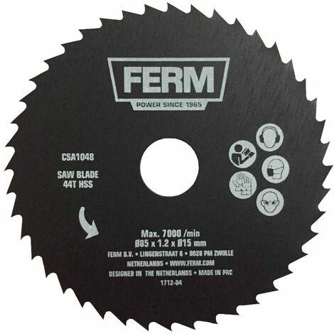 "main image of ""FERM Hoja de corte de precisión 44T (HSS) para CSM1043"""