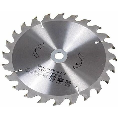 FERM MSA1024 Saw blade 210x30/16/18 24T TCT for MSM1035 and MSM1037