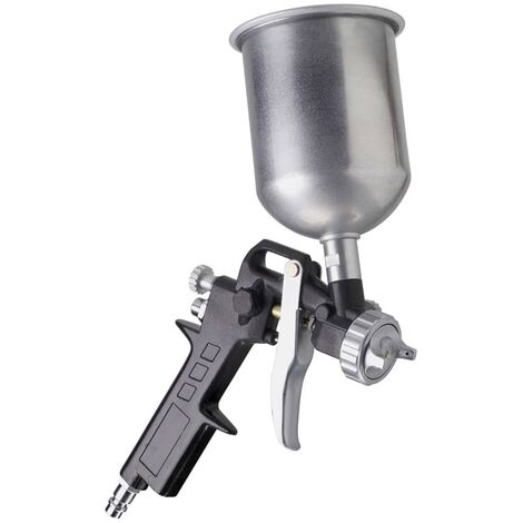 FERM Paint Spray Gun with Gravity Feed ATM1039