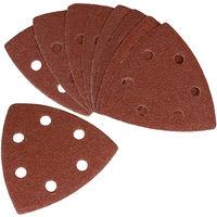 FERM PSA1033 Sanding Paper Set- P80- 10pieces- For DSM1009/OTM1004/OTM1005