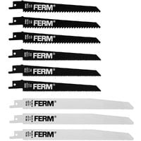 FERM RSA1001 Juego de hojas de sierra - 9 piezas