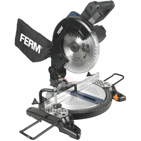 FERM Scie à onglets 1300 W 210 mm MSM1037