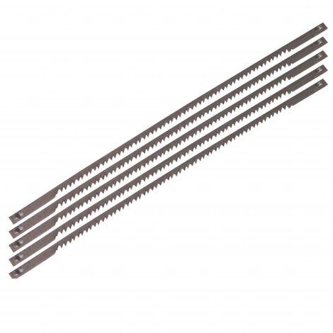 FERM Scroll Saw Blades 5 pcs Steel SSA1001