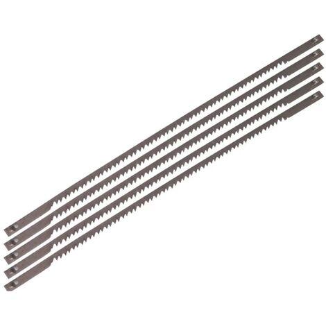 FERM Scroll Saw Blades 5 pcs Steel SSA1002