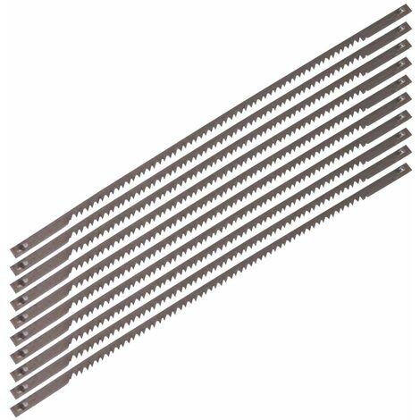 FERM SSA1001 Lame de scie 15TPI (5 pcs) - pour bois - pour scie à chantourner