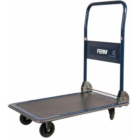 FERM TTM1027 Chariot à plateforme max.150kg
