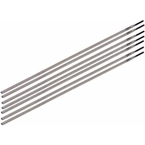 FERM WEA1016 Électrodes 2.0mm 12pcs - pour soudeuse électrique