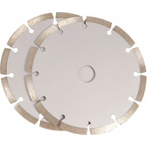 FERM WSA1002 Jeu de lames 150mm 2 pcs diamant pour WSM1008