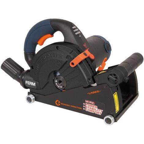 FERM WSM1008 Rainureuse 1,600W - 150mm
