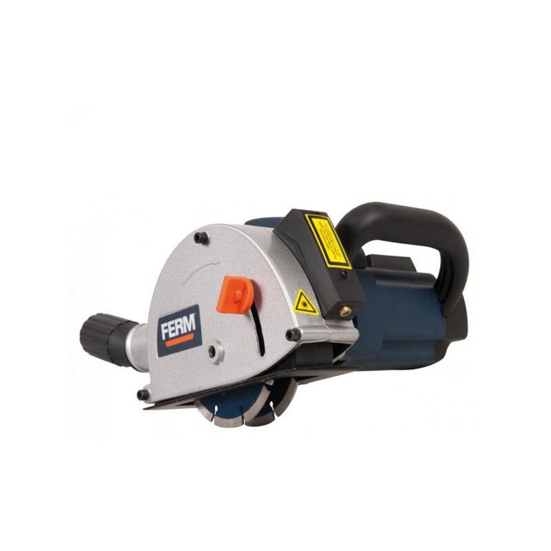 FERM WSM1009 Rainureuse 1.700W - 125mm