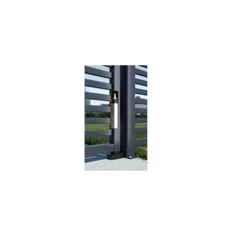 Ferme-portail hydraulique, intégré et réversible / avec gond fourni / jusqu'à 150kg - LOCINOX - - INTERIO.