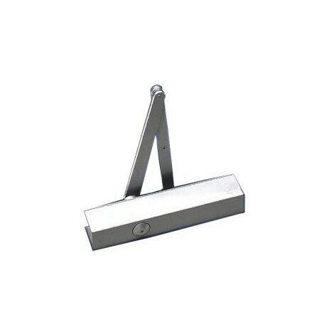 Ferme-porte sans ressort standard pour portes coupe-feu et anti-fumée Argent Taille 2-6 - Basi 1730-0202 Dorma TS 83