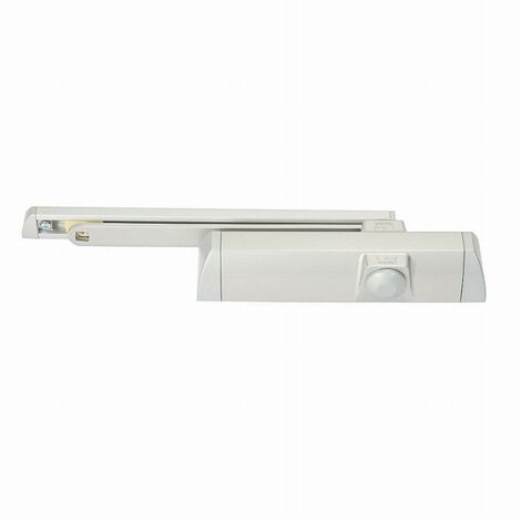 Ferme-porte TS90 bras coulisse coupe-feu DORMA - blanc - force 3 / 4 variable - 10200211