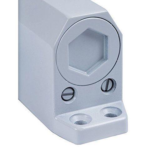 Fermé portes avec entrebâilleur pour Blanc (Épaisseur 3portes 80/100cm.)