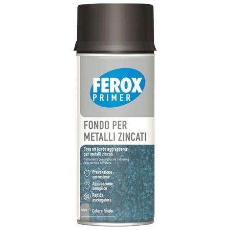 FEROX FONDO AGGRAPPANTE SPRAY legno (fondo grigio chiaro)