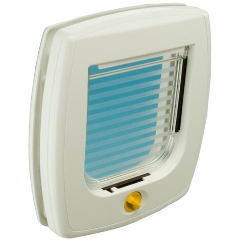 Ferplast 4-Way Manual Cat Flap Swing 3B White 72102011
