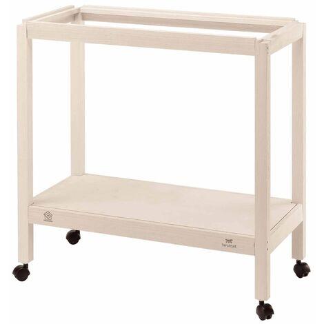Ferplast Birdcage Stand for Giulietta 5 White 69x34.5x70 cm 90105000