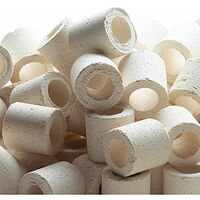 Ferplast BLURINGS Canolicchi in ceramica per filtraggio biologico. Variante BLURINGS - Misure: Ø 1,6 cm -