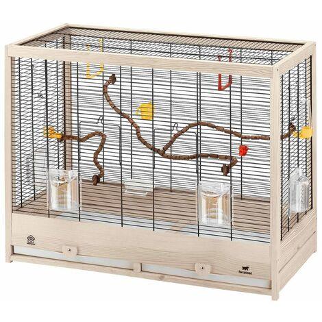 Ferplast Cage à Oiseaux Perruches Perroquets Maison Volière Multi-taille
