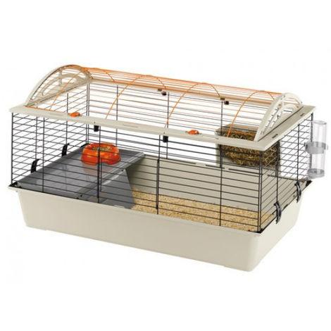 Ferplast Cage pour cochons d'Inde Casita 80 78 x 48 50 cm 57065070