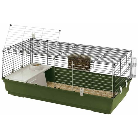 Ferplast Cage pour Lapins Clapier Maison Cochons d'Inde Animaux Multi-taille