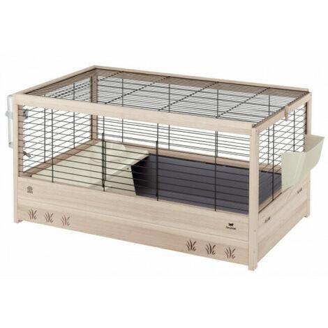 Ferplast Cage pour Lapins Cochons d'Inde Clapier Animaux Maison Multi-taille