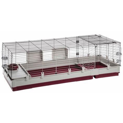 Ferplast Cage pour Lapins Cochons d'Inde Maison Clapier Animaux Multi-taille