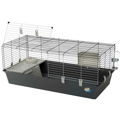 Ferplast - Cage Rabbit 120 pour Lapin et Cochon d'Inde