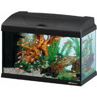 Ferplast CAPRI 50 LED - 40 L Acquario in vetro completo di lampada LED, filtro interno e riscaldatore. 2 colori.
