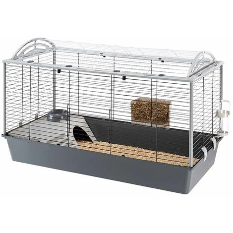Ferplast CASITA 120H Grande cage pour lapins et cochons d'inde. Variante CASITA 120H - Mesures: 119 x 58 x h 75,5 cm -
