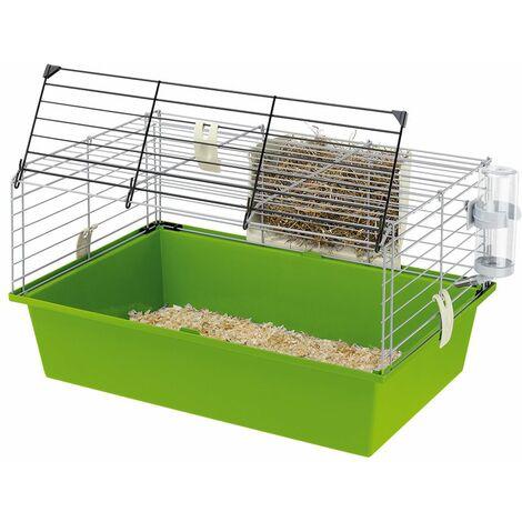 Ferplast CAVIE 60 Cage de petites dimensions pour cochons d'Inde. Variante CAVIE 60 - Mesures: 58 x 38 x h 31,5 cm -