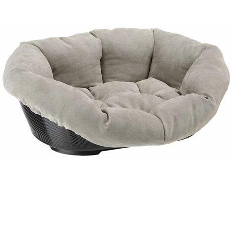 Ferplast Cesta para perros/gatos Prestige 2 gris 52x39x21 cm 81038230C