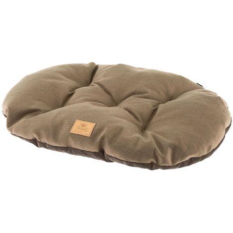 Ferplast Cojín para perros y gatos Stuart 65/6 marrón - Marrón
